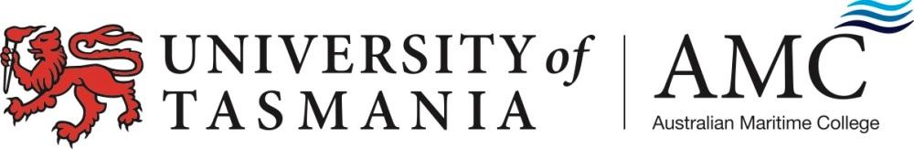 University of Tasmania_AMC Logo_CMYK
